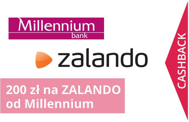200 zł na ZALANDO od Bank Millennium.