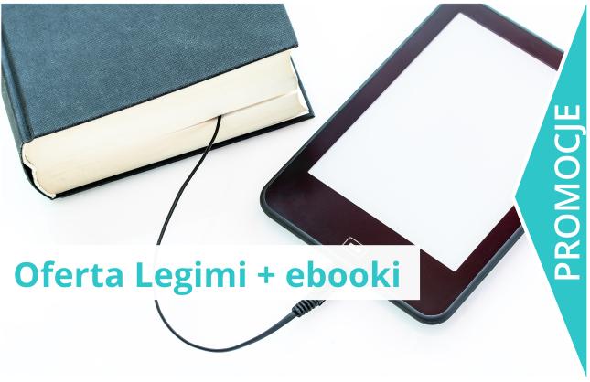 Oferta Legimi + ebooki na czytnik Kindle.