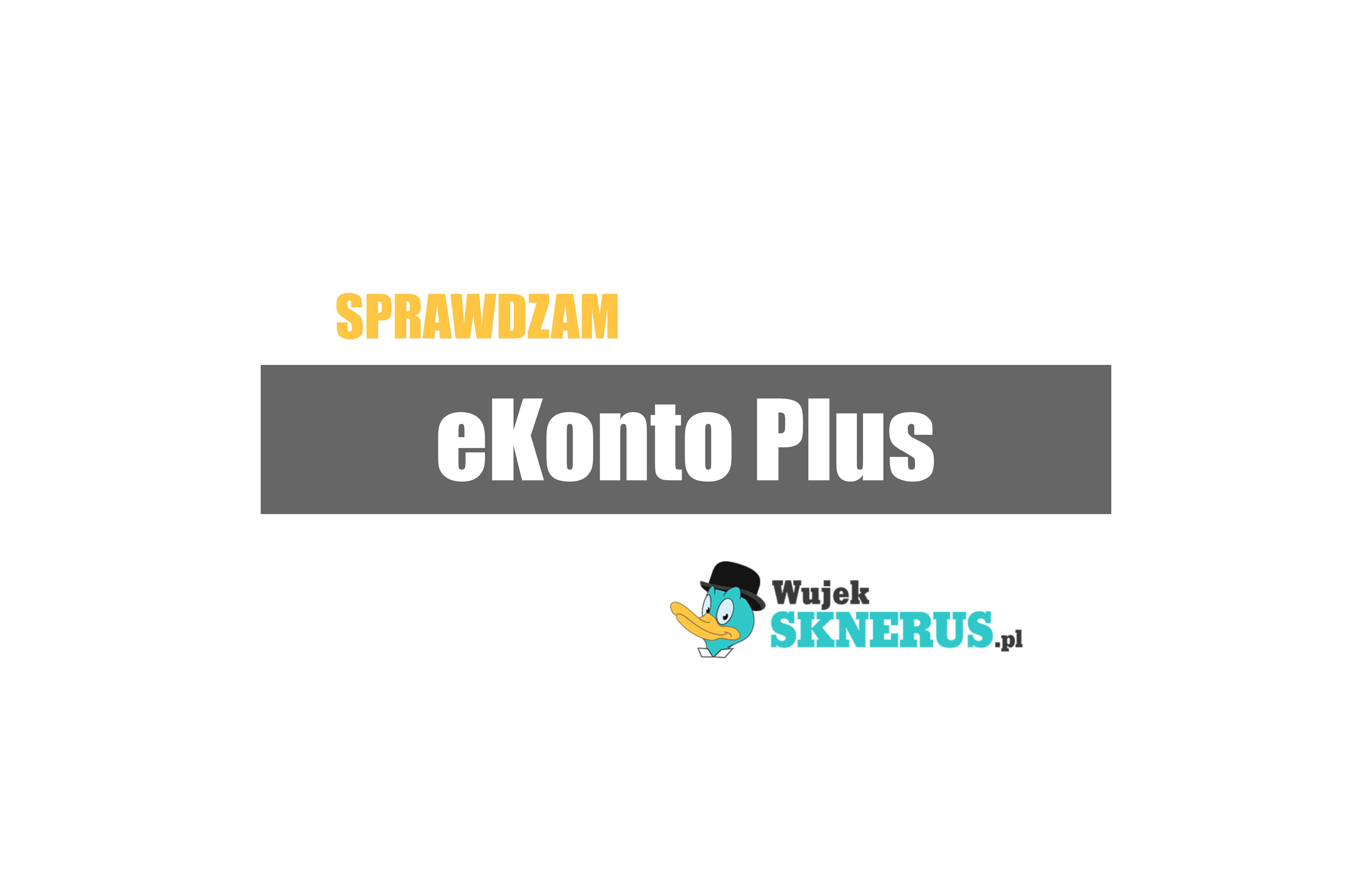 eKonto Plus od mBanku