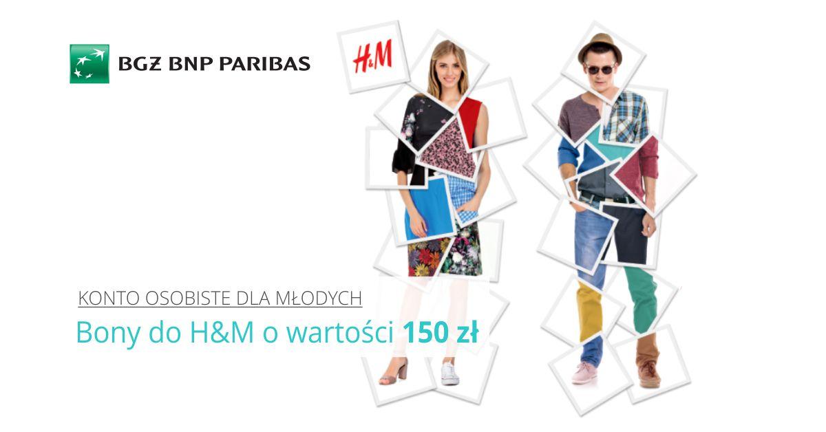Zyskaj z bankiem 150 zł na zakupowe szaleństwo w H&M
