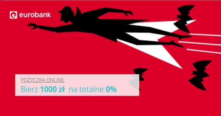 Pożycz 1000 zł i oddaj tyle samo, totalne 0%.